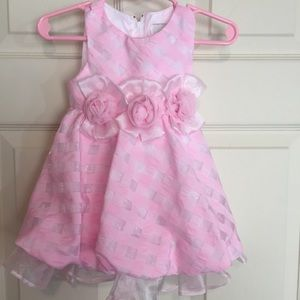 Rare Editions Dress Size 6-9 month